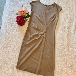 Halston Heritage Dress Wool Sz 6